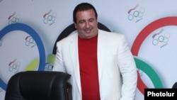 Глава Национального олимпийского комитета Армении Гагик Царюкян.