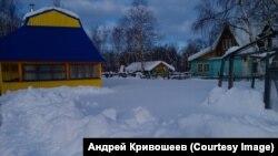 Снег на Камчатке