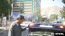 Control de securitate la Kabul