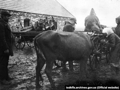 Розкуркулення селянина Ємци П. в одному із сіл Гришинського району Донецької області, 1930–1933 роки