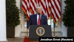АҚШ президенти Дональд Трамп, Вашингтон, 2020 йил 14 июли.