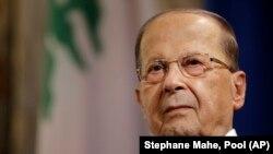 Presidenti libanez, Michel Aoun