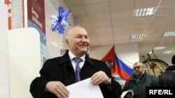 У мэра Москвы Юрия Лужкова настроение праздничное