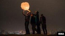 Новруз в Тегеране. Шимон Перес говорит, что обожает все церемонии, связанные с этим праздником