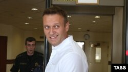 Russian anticorruption campaigner and opposition figure Aleksei Navalny.