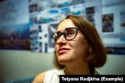 Київська волонтерка й громадська активістка Тетяна Родькіна