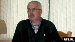 Bealrus -- The chairman of federation of hockey Uladzimer Navumau, 14May2009
