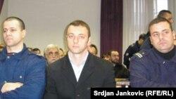 Damir Mandić u sudnici 2005, ilustrativna fotografija