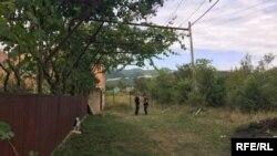 გუგუტიანთკარი, სადაც საოკუპაციო ძალებმა 7 აგვისტოდან დაიწყეს ე.წ. საზღვრის გავლებისთვის მზადება