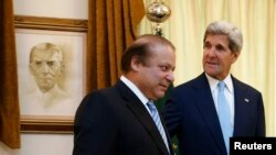 Nawaz Sharif və John Kerry