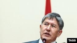 Prime Minister Almazbek Atambaev