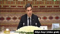 Türkmenistanyň prezident Gurbanguly Berdimuhamedow