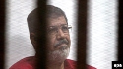 Deposed Egyptian President Muhammad Morsi (file photo)