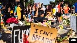 Демонстрациите в памет на Джордж Флойд продължиха в Минеаполис и в неделя