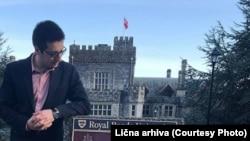 Kumnova završava master studije na Royal Roads Unviersity