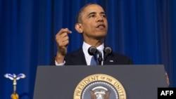 АҚШ президенті Барак Обама. Вашингтон, 23 мамыр 2013 жыл.
