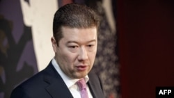 Czech politician Tomio Okamura has called on Czechs to walk dogs and pigs -- both of which are regarded as unclean in Islam -- past the country's mosques.