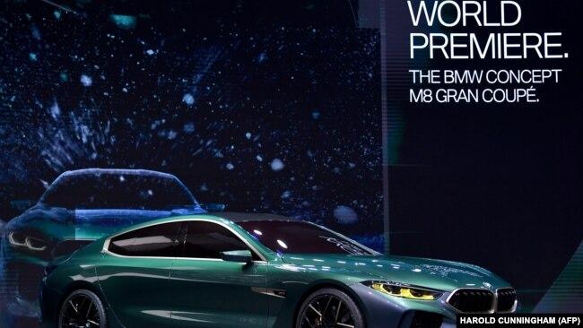 M8 Gran Coupé BMW na auto sajmu u Ženevi, ilustrativna fotografija