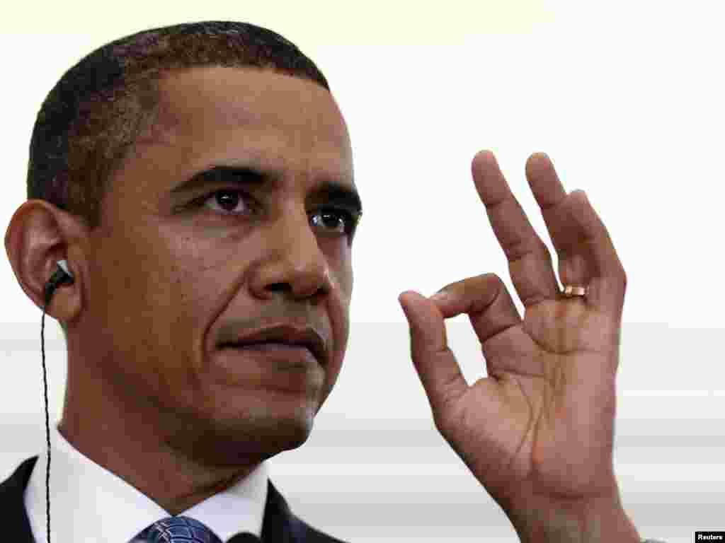 باراک اوباما، رييس جمهوری آمريکا
