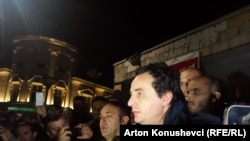 Косовскиот опозициски политичар Албин Курти