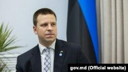 Premýer-ministr Juri Ratasyň Merkez partiýasy sesleriň köpüsini aljaga meňzeýär.