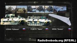 Зразки російської зброї і техніки, які присутні на Донбасі