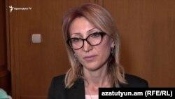 Депутат фракции «Лусавор Айастан» Мане Тандилян (архив)