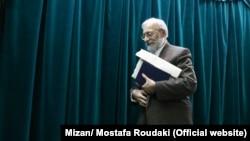 محمد جواد لاریجانی، معاون بین الملل قوه قضائیه (عکس از آرشیو)