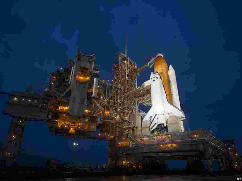آماده سازی شاتل «آتلانتیس» برای آخرین مأموریت پرواز شاتل ناسا- ۱۶ تیر