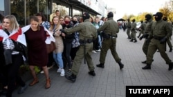 Женский протест в Минске. 19 сентября 2020 года