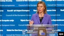 Шефицата за надворешна политика на ЕУ Федерика Могерини.