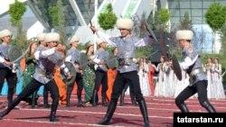 Türkmenistandaky geçirilýän çäreleriň birinden pursat