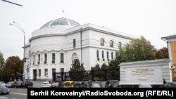 Колишня будівля Центральної Ради, Київ. Тепер тут розташований Будинок вчителя