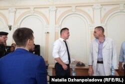 Адвокаты Евгения Урлашова и Алексея Лопатина