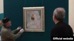 """Картина Александра Головина """"Портрет Е.М. Татевосяна в бедуинской повязке"""""""