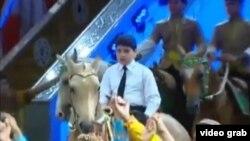 Türkmenistanyň prezidenti Gurbanguly Berdimuhamedowyň agtygy Kerimguly