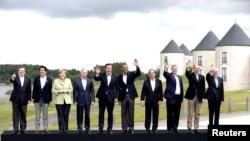 """Участники саммита """"Большой восьмерки"""" в Северной Ирландии"""