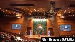 21-январда Түркиянын борбору Анкара шаарында кыргыз-түрк ишкерлеринин бизнес форуму башталды. Форумдун негизги максаты - Кыргызстан ЕАЭБге киргенден кийинки эки өлкөнүн экономикалык кызматташтыгын өнүктүрүү.