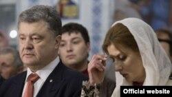 Петро Порошенко з дружиною, архівне фото