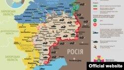 Ситуація в зоні бойових дій на Донбасі, 23 липня 2015 року
