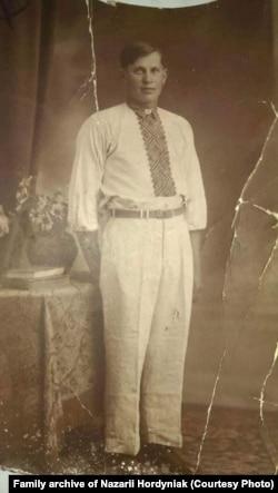 Дід Дмитрій, фото із сімейного архіву Назарія Гординяка