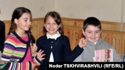 Georgia -- pupils of public school #1, Tbilisi, 04Nov2010