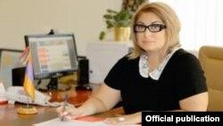 Региональный директор Армянской Ассамблеи Америки Армине Дарбинян