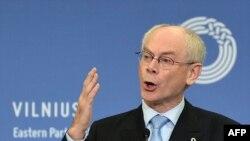 Президент ЕС Херман Ван Ромпей,