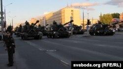 Военный парад в Минске 3 июля 2014 года