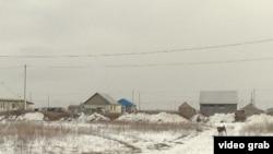 Алматы облысындағы ауылдардың бірі. Көрнекі сурет.