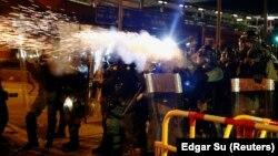 Հոնկոնգ - Ոստիկանությունը արցունքաբեր գազ է կիրառում ցուցարարների դեմ, 28-ը հուլիսի, 2019թ․
