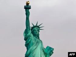 Kip slobode u Njujorku - ilustracija