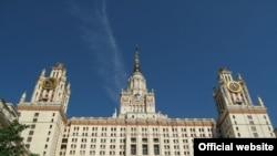 Здание общежития МГУ, Воробьевы горы, Москва.