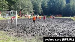Балотны футбол на Аўгустоўскім канале